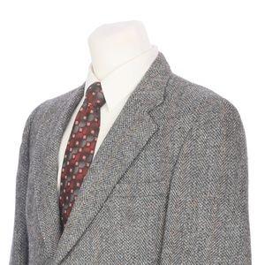 Vintage Harris Tweed Scottish Donegal Sport Coat
